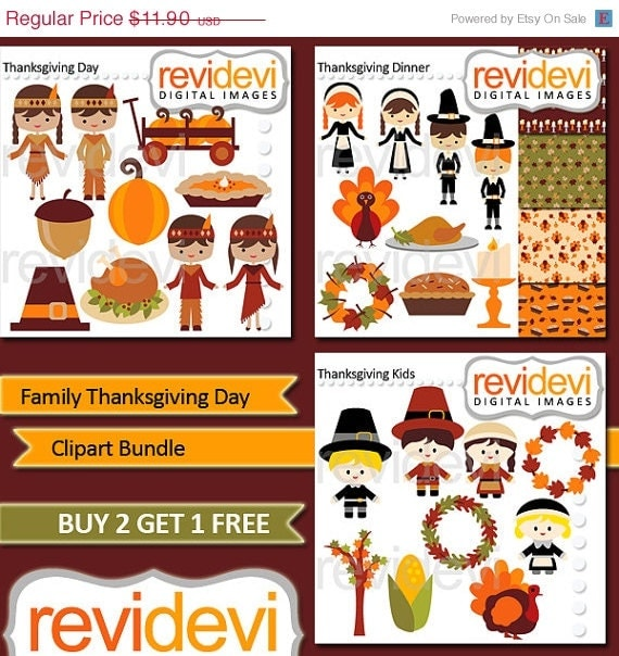 Source Img0etsystatic Report Thanksgiving Family Clipart