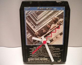 Beatles........!967/1970.... 8 Track Tape Clock