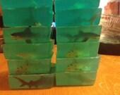Set of 30 - Adult Size/ Party Favor/ 4 ounce Soaps-SALE/#sharkweek2016/ NICOLE BRUDER