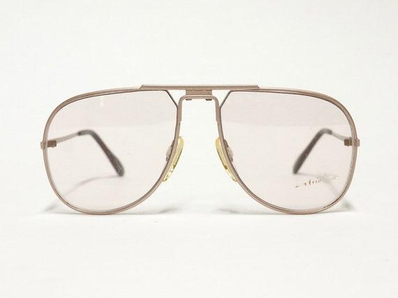 Jaguar vintage eyeglasses model 349 titan 1980s by EllaOsix