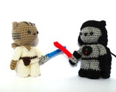 Jedi & Sith Cat Amigurumi Patterns - Star Wars Crochet