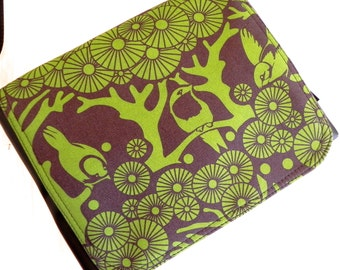 Green woods small satchel cross body bag