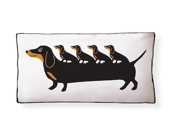 Dachshund Puppies Pillow