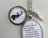 Mary Poppins inspired necklace