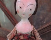 OoAk Queen Anne Poppet Doll Lilleth