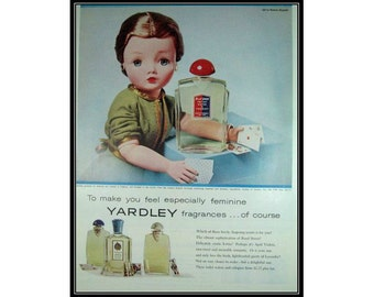 Yardley Madame Alexander Doll Playing Cards Vintage Advertising E102