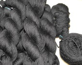 Black 100% Merino Sport Recycled Yarn - Very Soft - 14 ounces - On Sale