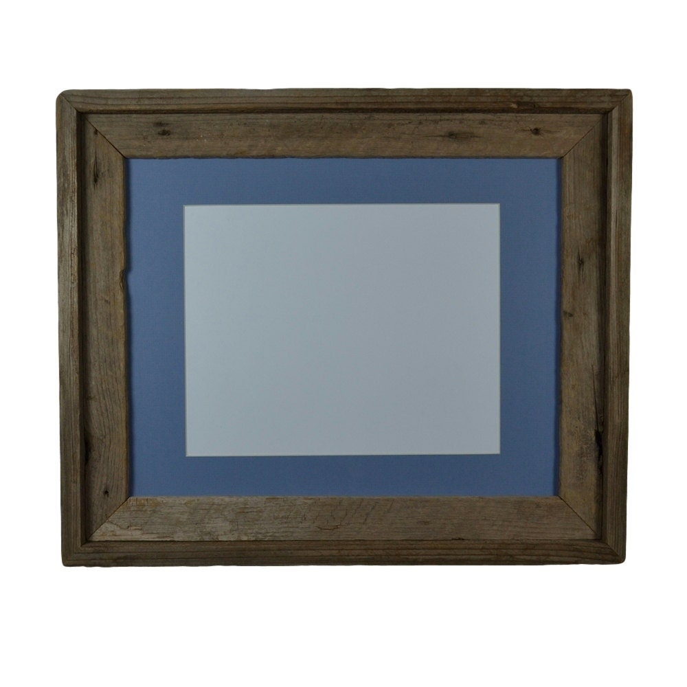 Repurposed Picture Frame 11x14 With Mat For 8x10 Or 8x12