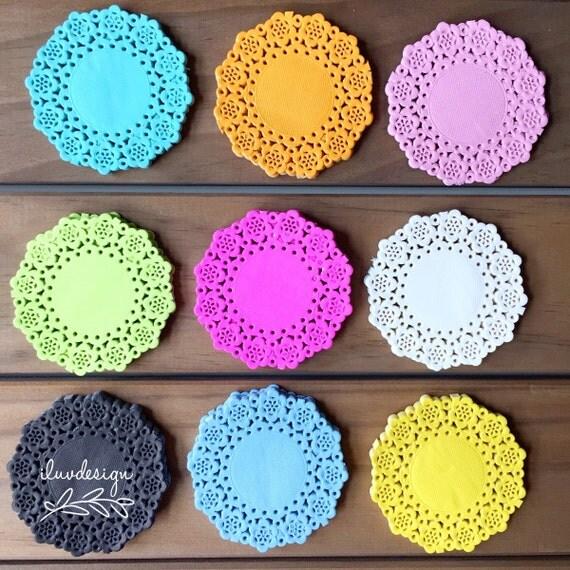 ... Doodlebug Mini Doilies (75/Pkg) Paper Doily • Color Paper Doily