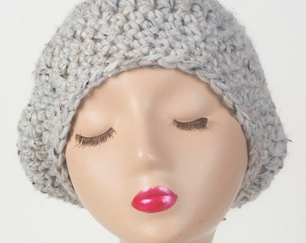 Women's slouch beanie, beret style hat