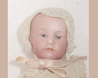 Heubach - Adorable - Antique -  Heubach Character Baby Doll - Germany -So Nice