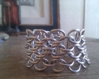 Sterling silver vintage Mexican bracelet