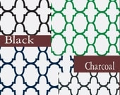 Custom Riad Quatrefoil Design Drape - Lined (various colors and sizes available)
