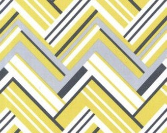 Michael Miller Virgina Citron Flannel Fabric, 1 yard