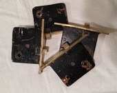 Antique Mortise Door Hardware, Brass and Iron