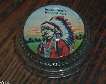 vintage souvenir Grand Canyon paperweight