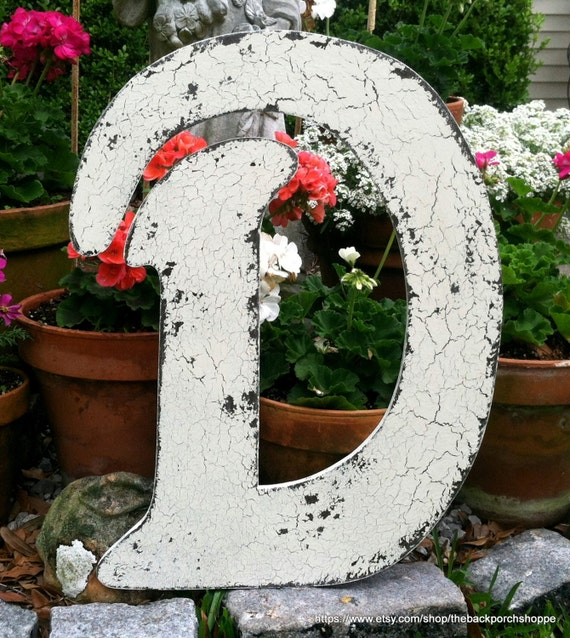 WEDDING GUEST BOOK Alternative - Letter D - 2 ft. tall - Wedding Signs