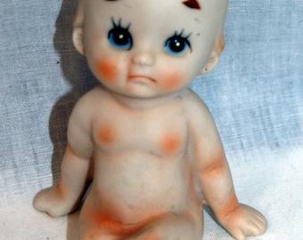 Vintage Brinn's Bisque Kewpie Figurine