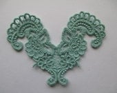 Cotton Lace Applique/ Jewelry/ Crazy Quilts/ Altered art