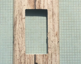Switchplate Outlet Cover Wood Light Woodgrain wood birch pine
