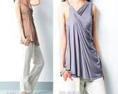 My Zen 5 - Modal cotton asymmetrical draping slip (Y1508)