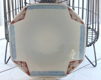 vintage Asian small plate