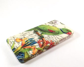SALE!! Green Parrot iPhone 5/5S case