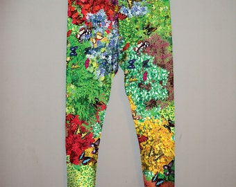 Plants & Butterflies Leggings -----> New Item!