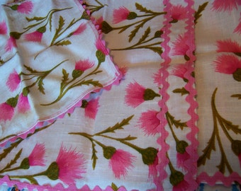 handmade table linens