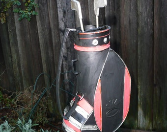 Golf bag Yard Art