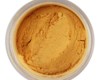 Super Gold Luster Dust - dust for adding high luster sheen to gum paste, fondant, cakes, cupcakes, cookies, and cakepops