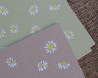 Spring Daisy Notecard
