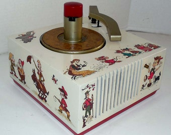 9EY33 Disney 45rpm Record Player by RCA Restored W Warranty