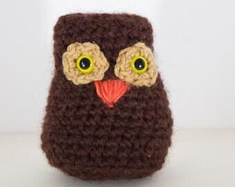 Wool Amigurumi Owl