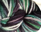 SALE Hand Painted Worsted Weight Yarn - Superwash Merino - New Zealand
