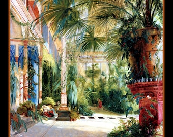 Inside the Palm House Refrigerator Magnet - FREE US SHIPPING