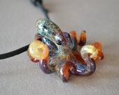 Multi luster Octopus Pendant for men or women