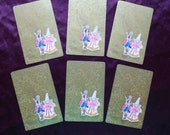 King and Queen Vintage Playing Cards