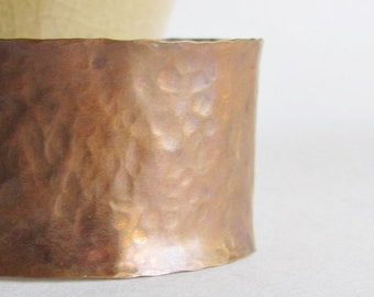 Hammered Copper Cuff Bracelet - Anticlastic Copper Cuff - 9th Anniversary Gift - Mother's Day Jewelry