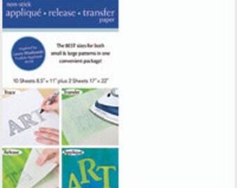 Sale! Silicone Release Paper: Non-Stick Applique Release Transfer Paper C&T Publishing