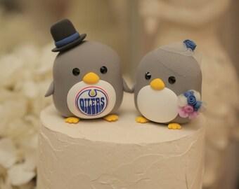 Penguins wedding cake topper ,Penguin wedding cake topper(K443)