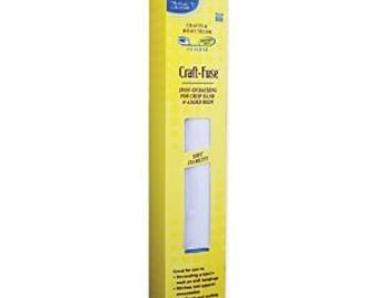 Craft-Fuse Iron-On Stabilizer: 15 inch x 4 yards