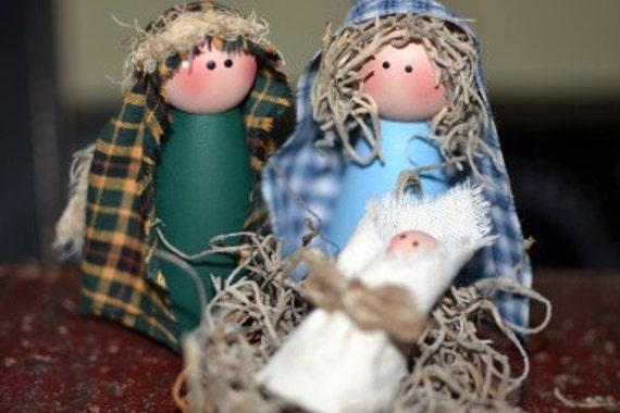 Primitive Nativity Set