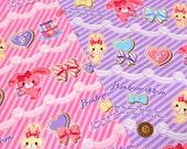 Sanrio Fabric Bonbonribbon Half meter Available in two colors