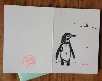 missing you penguin