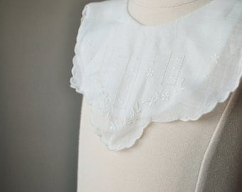 1930s Heirloom Dress Collar~Newborn Size