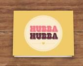 50% OFF Hubba Hubba Card