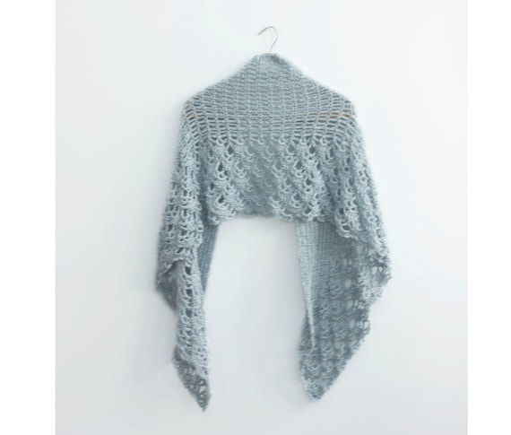 Crochet Lace Weight Shawl Pattern : PDF Crochet Shawl Pattern Wedding Shawl Pattern Lace Shawl