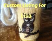 Custom order for Lisa Drayton (tissotsgrl)
