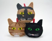 Personalized Cat Ornaments Made to Order